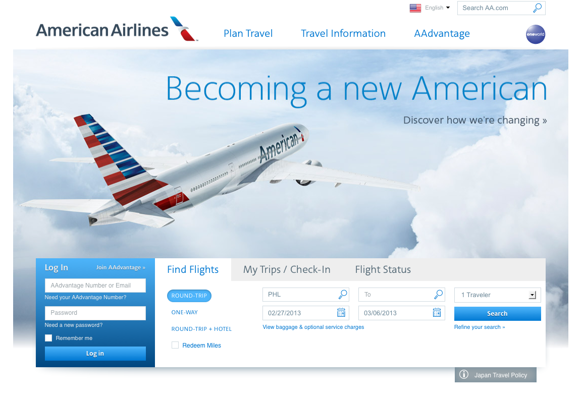 American Airline\'s New Look Video - T60 Productions
